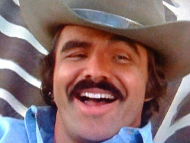 Burt Reynolds. My Auntie Veronica LOVED Burt!!!!