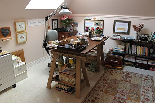 Trowel and Paintbrush: My Painting Studio