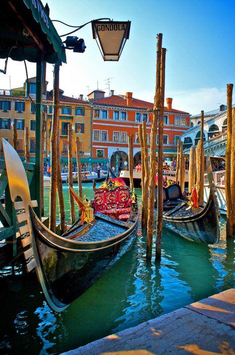 Gondola Stand, Venice, Italy: Beautiful Italy, Gondola Stand, Favorite Places, Beautiful Places, Venice Italy, Travel, Photo