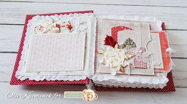 Blog studio75.pl: Christmas Time mini album