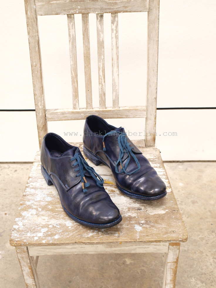Carol Christian Poell – O. dyed unlined Goodyear derbys