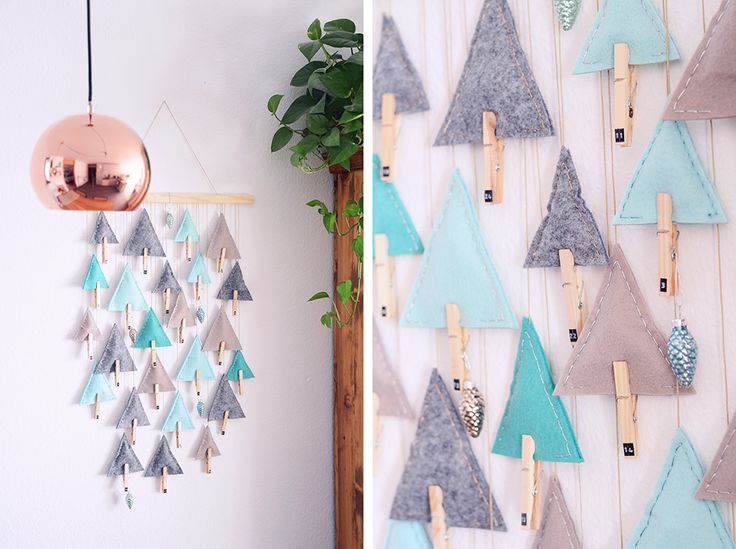 Advent Calendar Triangle Trees