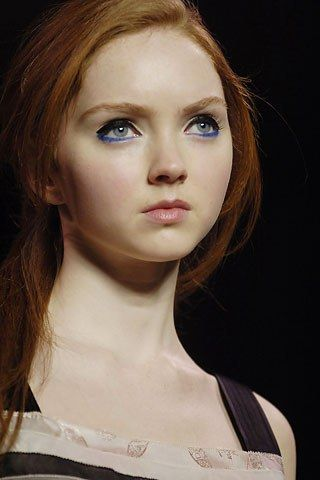 Lily Cole - international super model with a Double First in History of Art at the University of Cambridge.