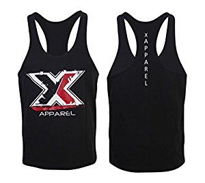 Mens Muscle Gym Stringers Vest Tank Top Bodybuilding Gym Wear MMA Clothing Golds Gym Racer Back Vest Black: Amazon.co.uk: Sports & Outdoors