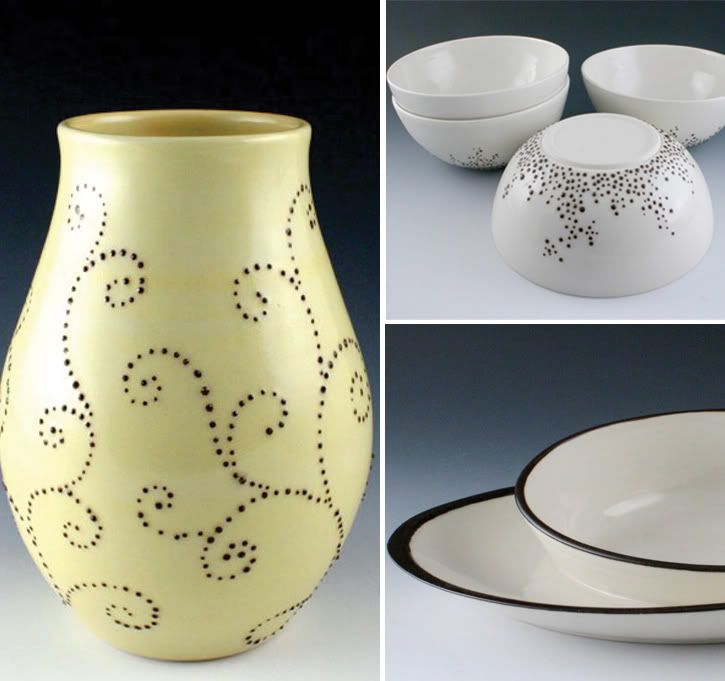 easy painted pottery designs the image