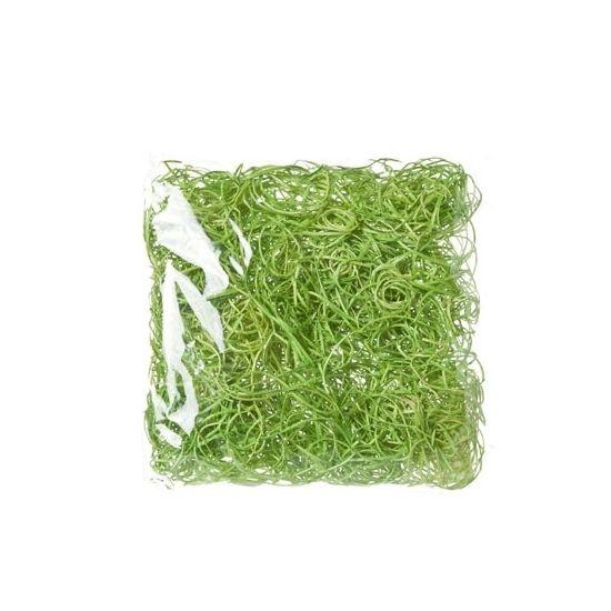 Decoratie paasgras groen 45 gram  Paasgras van houtkrullen in het groen. Het gras kunt u gebruiken ter decoratie als bijvoorbeeld lente- of paasversiering. Inhoud: 45 gram.  EUR 2.50  Meer informatie