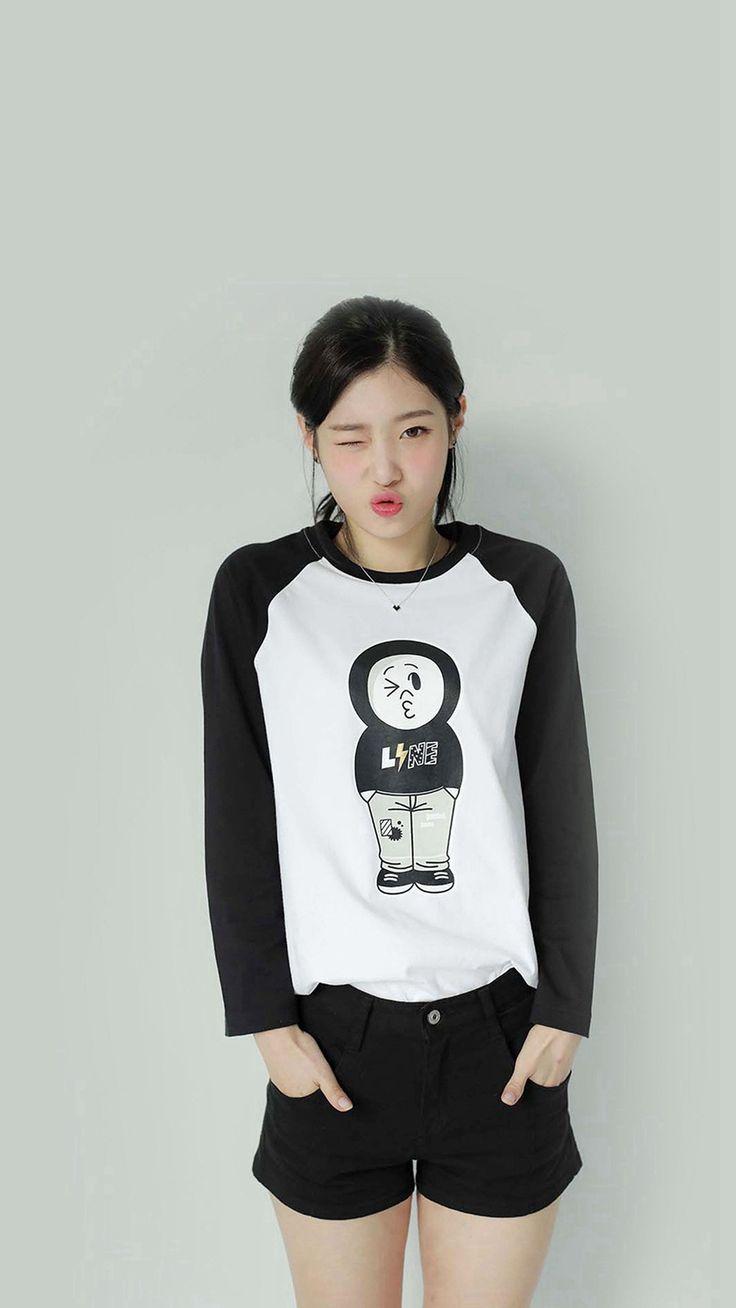 Kpop IOI Chayeon Girl Cute Wink #iPhone #7 #wallpaper