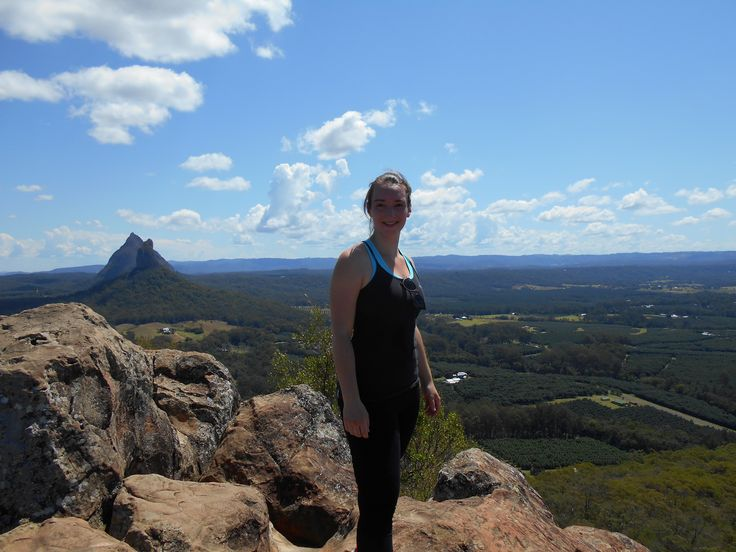 Top of Mt. Ngungun (glasshouse mountains)