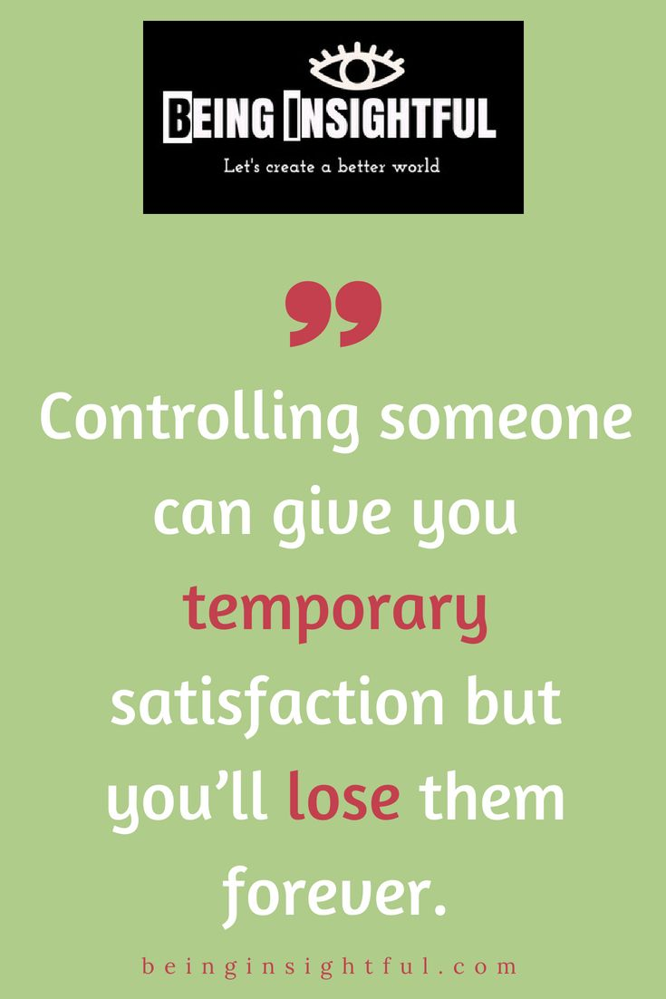 5 Warning Signs You're Dealing With a Control Freak | Photo quotes