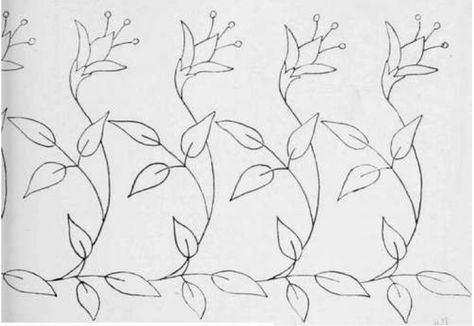 Border for a Tea-cloth from Arts & Crafts Magazine, 1904