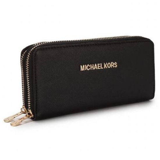 Michael Kors Saffiano Continental Large Black Wallets Can Be Every Property Of Everyone! Owning It, You Will Own High Quality Life, Come To Purchase One!