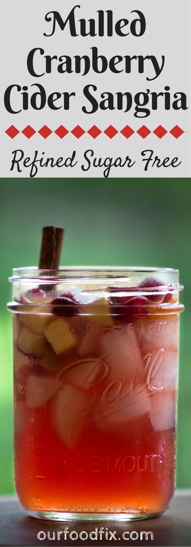 Sangria recipes | Drinks recipes | Refined Sugar free | Winter drinks | Fall drinks | Cocktail recipes | Mulled wine | Apple cider | Fruity cocktails | Pitcher cocktails | Party drinks