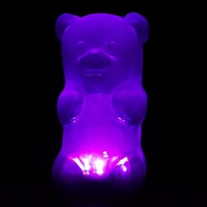 Emma-purple: Gummy Bears, Gummybears, Nightlight Purple, Lights Purple, Fab Com, Exclusively Gummylamp, Gummylamp Purple, Bears Lamps, Gummygood Nightlight