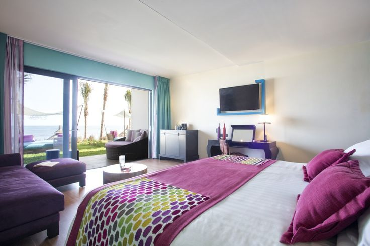 Our beautiful new Oceanfront Family Suites at Club Med Cancun Yucatan (Mexico).