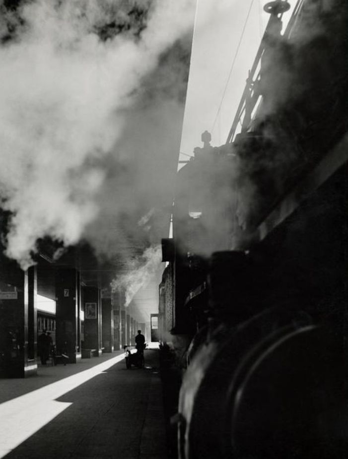 Herbert List - Termini Station, Rome Italy, 1950
