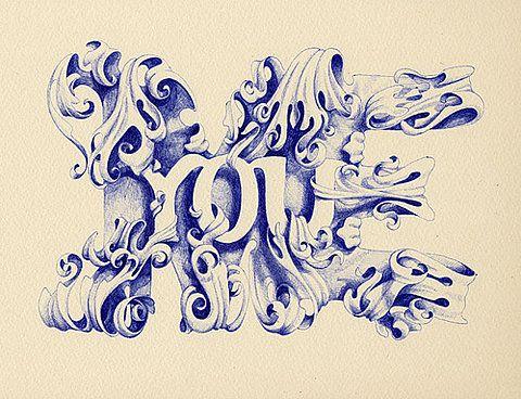 type : Tattoo Ideas, Illustrations, Awesome, Marian Bantj, Quote, Typographic Marvel, Tattoo Design, Marianbantjes1Jpg 400307, Design Stuff