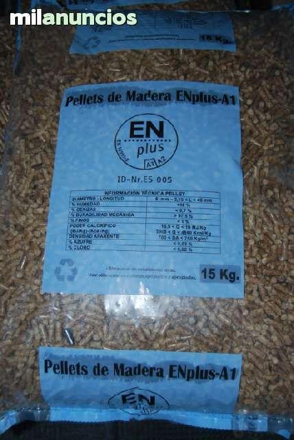 Se vende pellets en toda Espa�a. distribuidor calderas pellets Bronpi y Ecoforest Y CALUX y JUNTASOL.venta de pellets de hueso de aceituna, p�llets a granel, en sacos de 15 kilos.Distribuidor de p�llets en M�laga y Espa�a. P�llets a granel, en big-bag y e