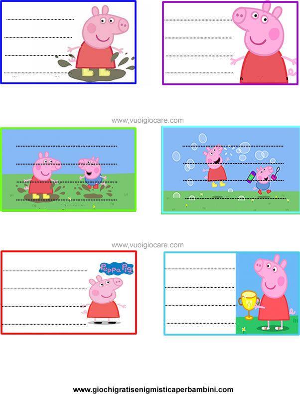 Extrêmement Oltre 25 fantastiche idee su Etichette per bambini su Pinterest  ZQ32