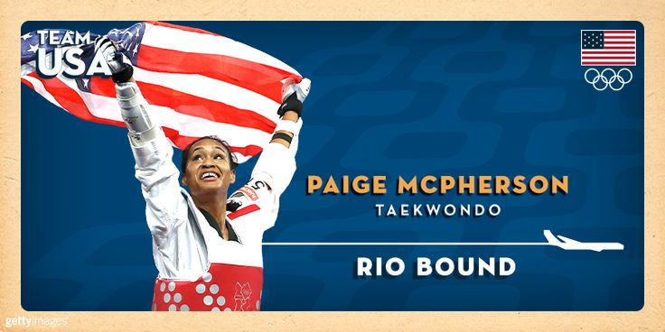Olympic Taekwondo Bronze Medalist Paige McPherson Qualifies For 2016 Olympic Team