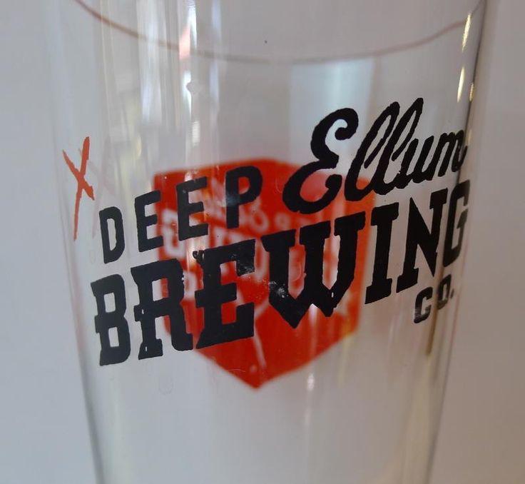 #Dallas Deep Ellum Brewery Beer Taproom Souvenir Pint Glass