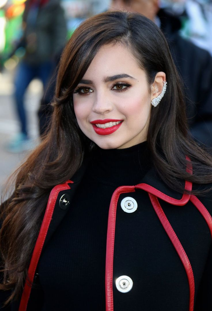 Sofia Carson at 2015 Macy's Thanksgiving Parade in New York City