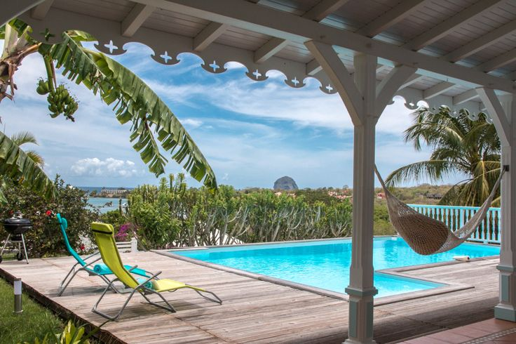 Villa Opale Martinique - 4 bedroom luxury villa in Le Diamant