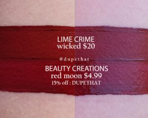 Lime Crime Wicked Dupes | Dupethat