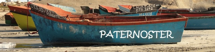 """Paternoster, meaning """"Our Father"""" derives its name from the prayers of  ship-wrecked Portuguese sailors. Paternoster is a small, quaint and  picturesque fishing village about 145km (90 minutes drive) from Cape  Town and 15km north west of Vredenburg"""