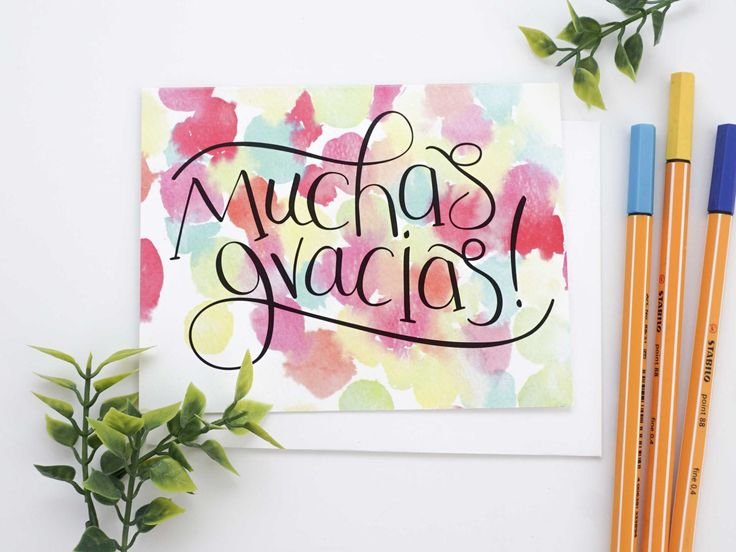 25+ best ideas about Spanish thank you on Pinterest | Spanish for ...
