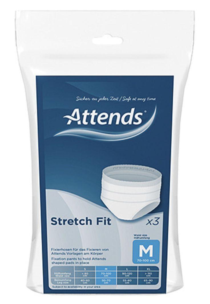 Attends Stretchfit truse M 3 stk | Vitusapotek