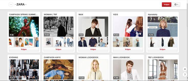 Zara, de bekende kledingswinkel, promoot dus vooral de nieuwe modetrends die zij in hun winkel aanbieden.