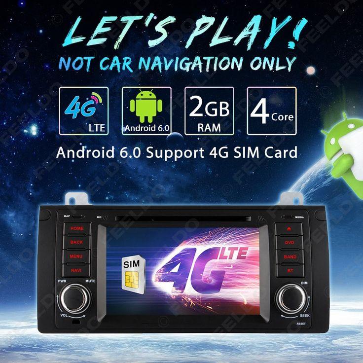 "7""Android 6.0 (64bit) DDR3 2G/16G/4G LTE Quad Core Car DVD GPS Radio Head Unit For Range Rover(2003~2004) #FD-4599"