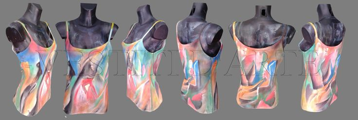 painted clothing art t shirt bohemian clothing going out clothing custom TANK TOP art tank top women tank top bride tank boho top painted by Vestitidarte on Etsy