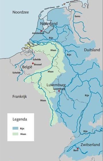 noord europa kaart delta - Google zoeken
