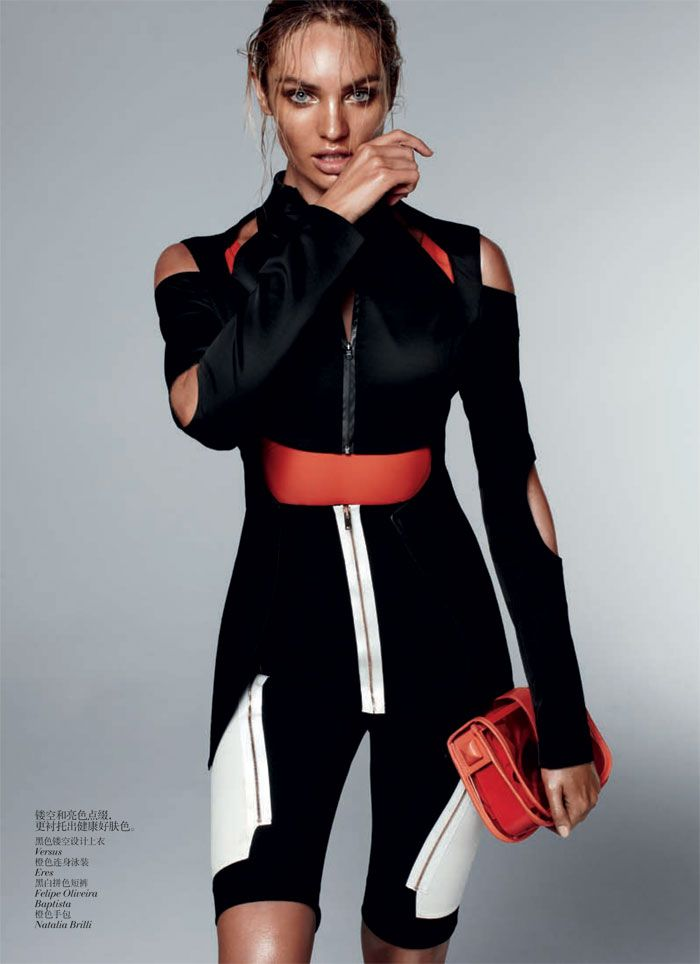 candice swanepoel8 Candice Swanepoel by Daniel Jackson for Vogue China February 2012