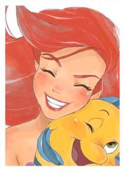 Where did Ariel got her Diamond White Smile?........ UNDER THE SEA! :)