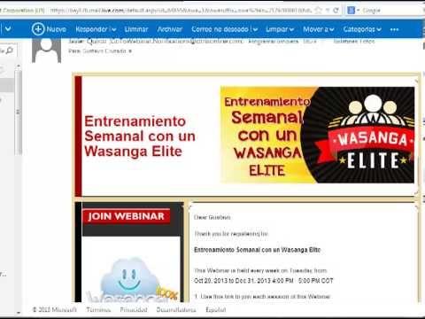 Cómo Registrarse en el Entrenamiento Semanal con un Wasanga Elite. Es totalmente gratuito. Si necesitas ayuda ó guia, búscame en: http://wasanga.com/gustavocruzado/entrenamiento-semanal-con-un-wasanga-elite/?id=gustavocruzado