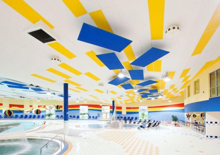 Oddychové a relaxační centrum AQUASVĚT, Chomutov - Saint-Gobain
