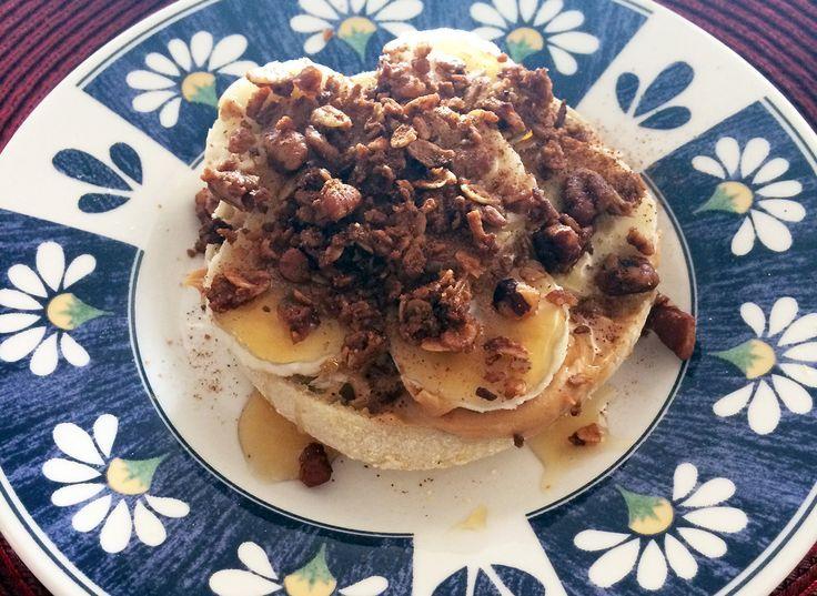 Honey Granola Breakfast Sandwich – #breakfast #granola #honey #sandwich – #new
