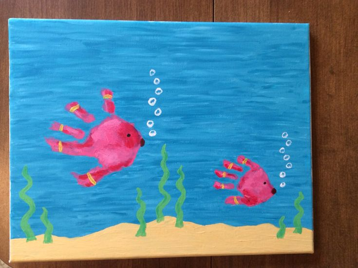 Handprint And Footprint Crafts For Toddlers