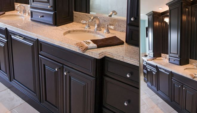 Sinks That Sit On Top Of Counter : sink, and tower cabinets on top that sit on top of the counter ...