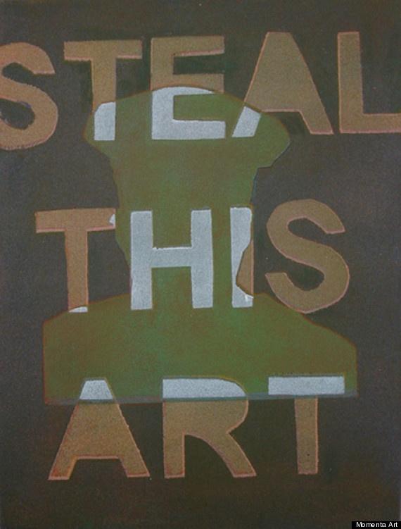 steal this art.: Art Paintings, Art News, Brooklyn