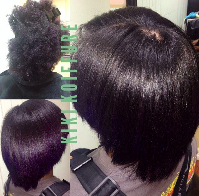 Natural Hair Blowout Flat Iron Houston Texas Blow