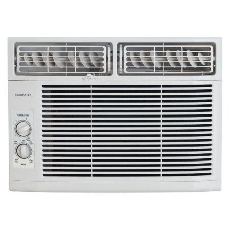 Frigidaire FFRA1011R1 10,000 BTU 115V Window-Mounted Mini-Compact Air Conditioner with Mechanical Controls, White