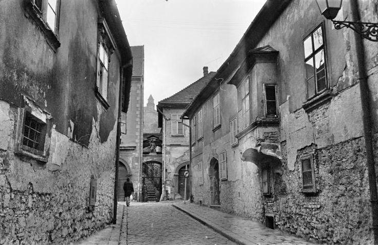 Pozsony, Pázmány Péter utca (kép: 1973, dr Tóth Károly, fortepan)