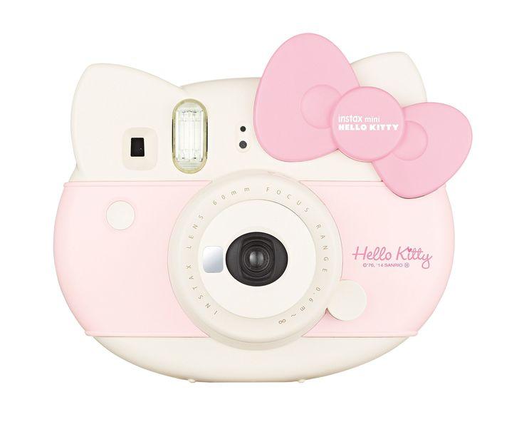 """Amazon.com : Fujifilm Instax Mini """"Hello Kitty"""" Instant Camera INS MINI KIT CAMERA PK(Japan import) : Camera & Photo"""