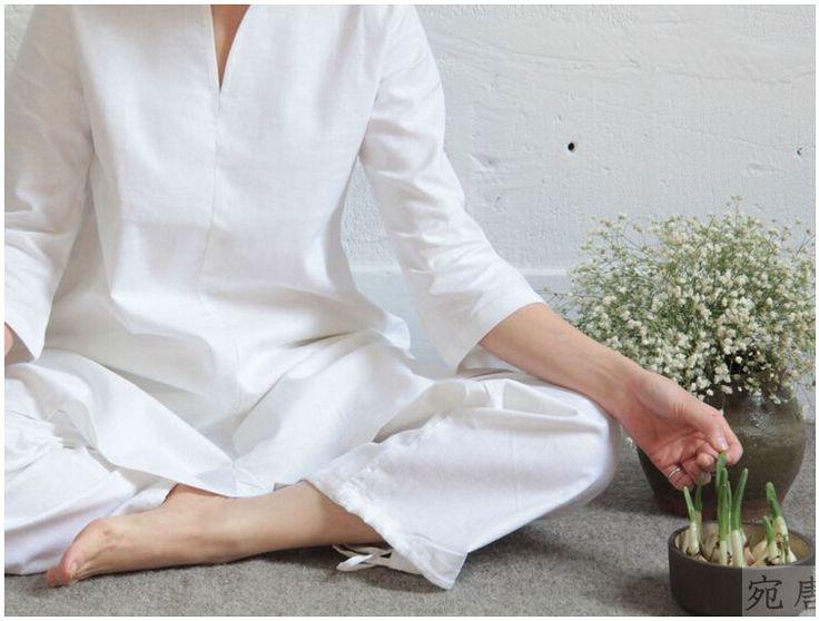 Aliexpress.com : Buy Buddhist meditation clothing tai chi clothes ...