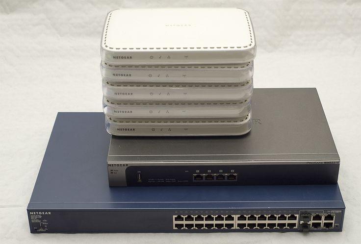 1x NETGEAR FS728TP 24 Port PoE (RRP £199) 1x NETGEAR Prosafe WMS5316 (RRP £599) 5x NETGEAR WNAP210 (RRP £150 each)  Combined make the perfect setup for any small business.