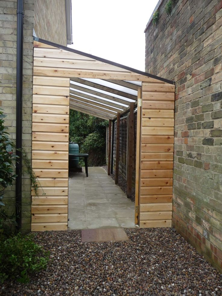 garage lean to ideas - Huntingdon Garden Lean to …