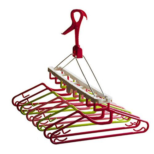 Clothes Airer and Clothes Hanging Dryer with 8 Hangers #clothes-airer #hanging-drying-rack-indoors #indoor-clothes-drying-hanger #laundry-clothes-drying-rack #laundry-hanging-dryer #pastelvarie-flower #portable-clothes-drying-rack